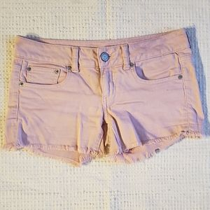 Pink Cutoffs